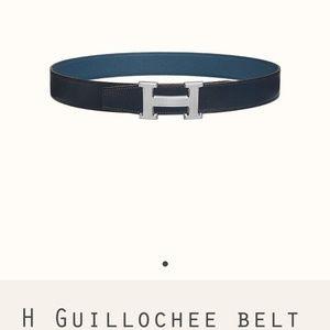Other - HERMES Men Belt - 32 MM reversible leather strap
